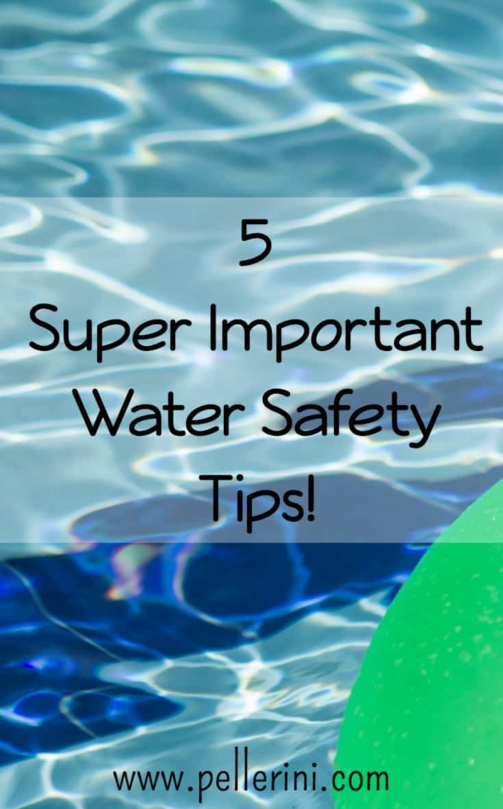 5 super important water safety tips