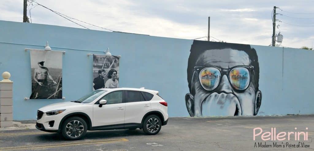 Mazda West Palm Beach Street Art Anthony Hernandez JFK