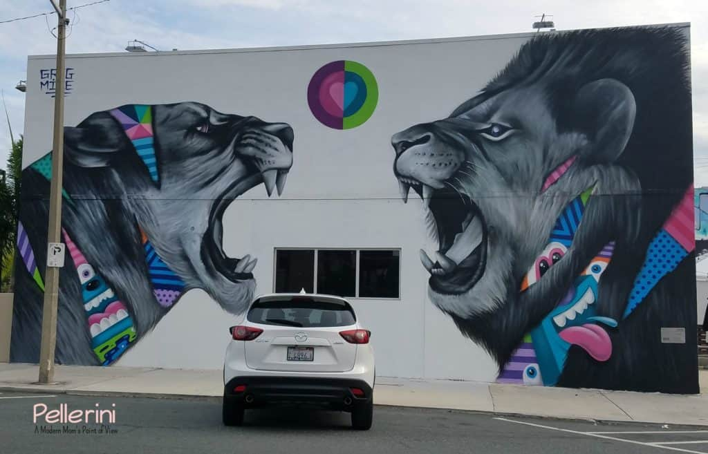 Mazda West Palm Beach Street Art Greg Mike