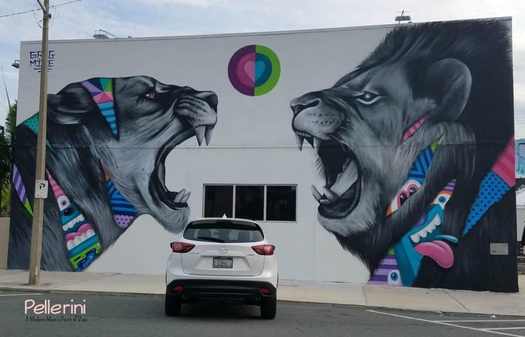 Mazda West Palm Beach Street Art Greg Mike