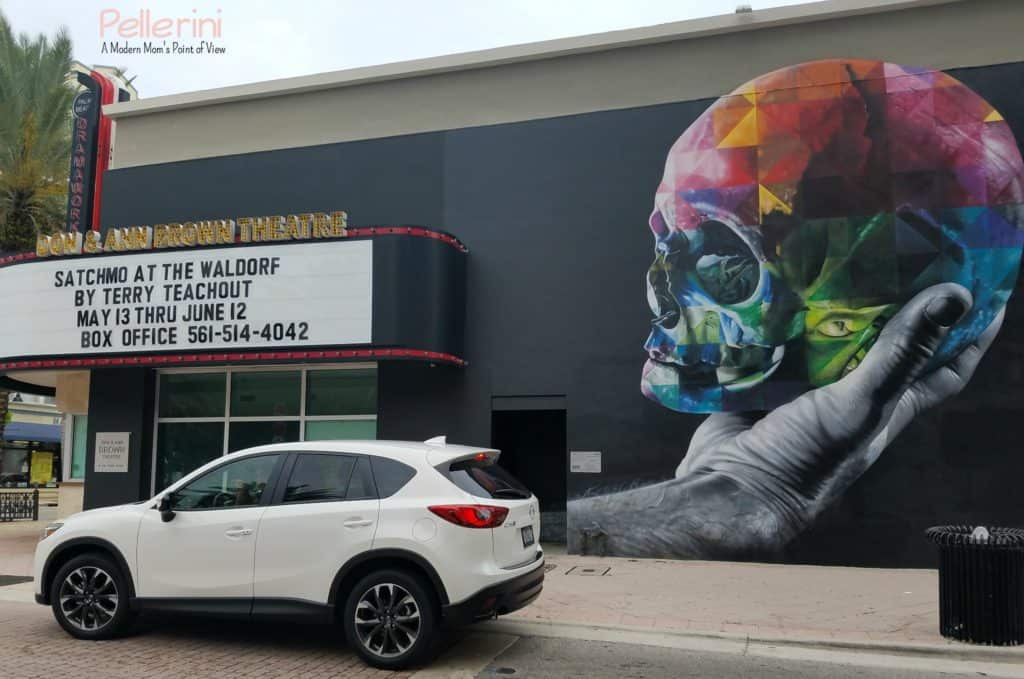 Mazda West Palm Beach Street Art Kobra Hamlet