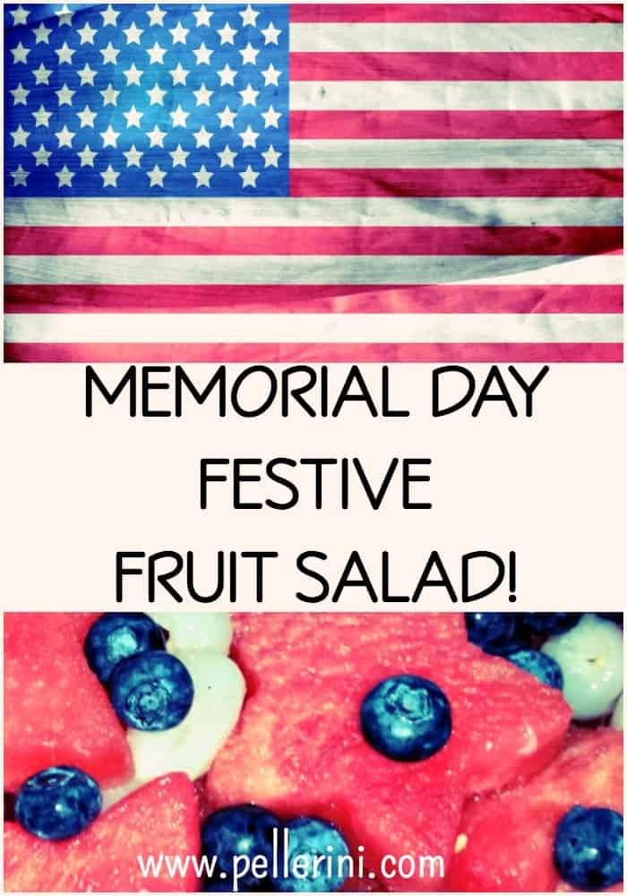 Memorial Day Festive Fruit Salad