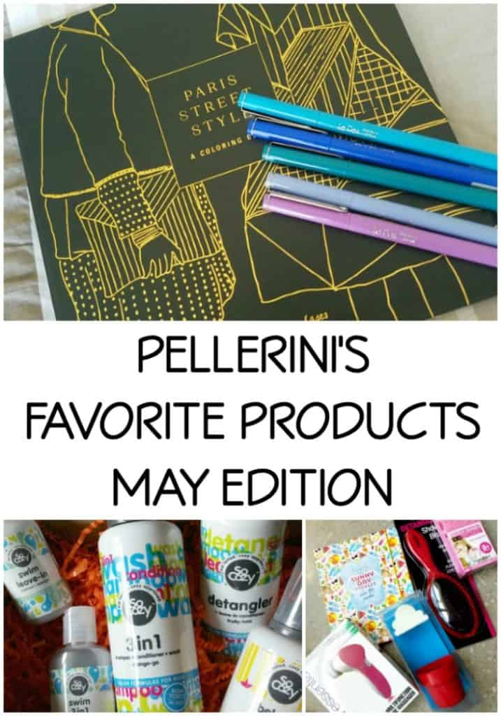 PELLERINI'S FAVORITE PRODUCTS MAY EDITION