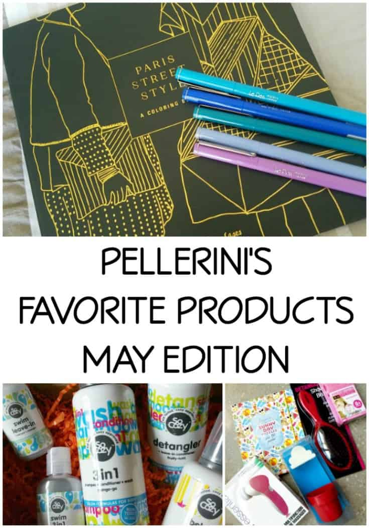 Pellerini's Favorite Products – May Edition