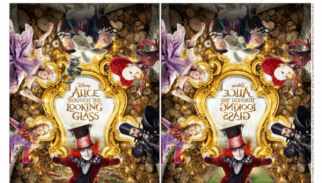 Alice Through The Looking Glass Family Fun!