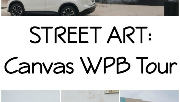 STREET ART: Canvas Art West Palm Beach Tour #DriveMazda
