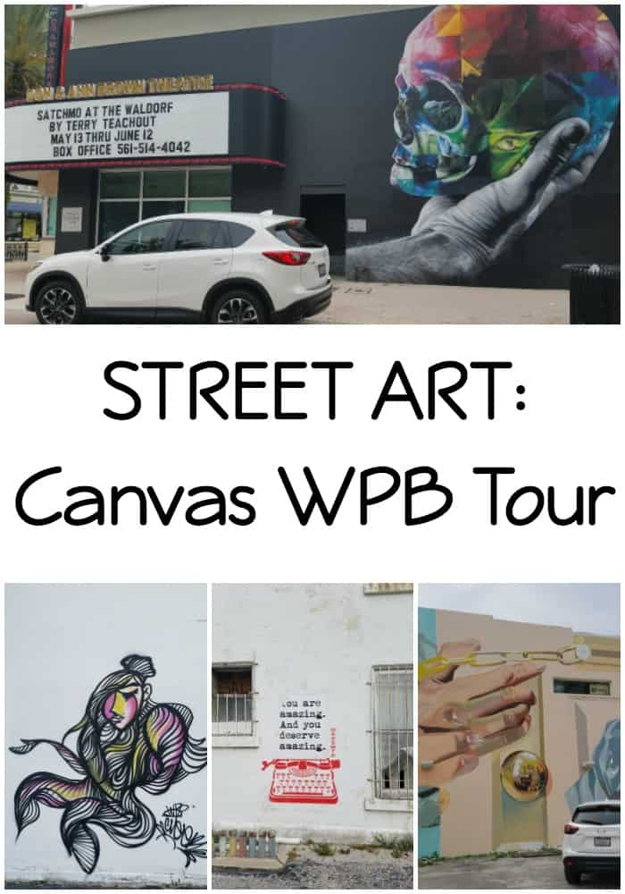 STREET ART: Canvas Art West Palm Beach Tour #DriveMazda