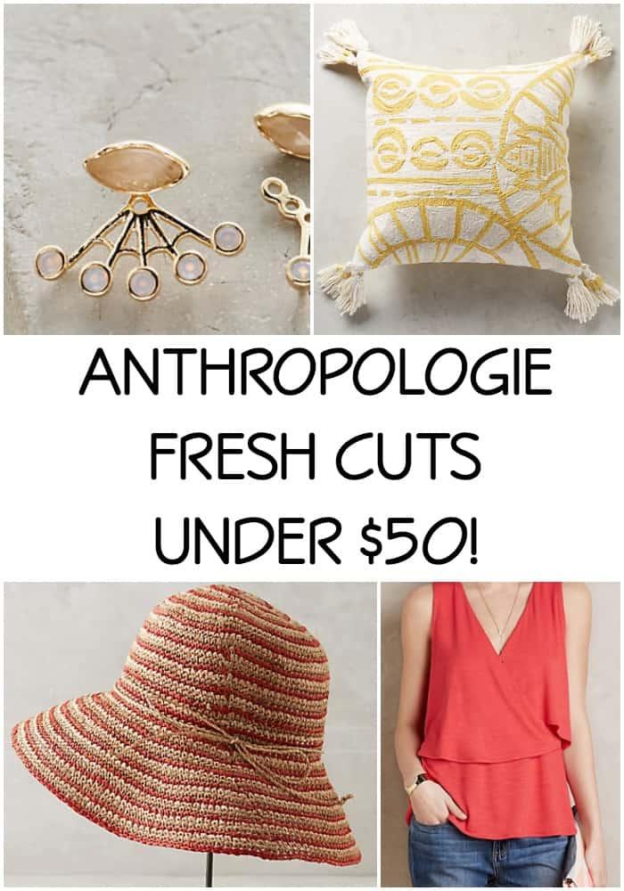 ANTHROPOLOGIE FRESH CUTS