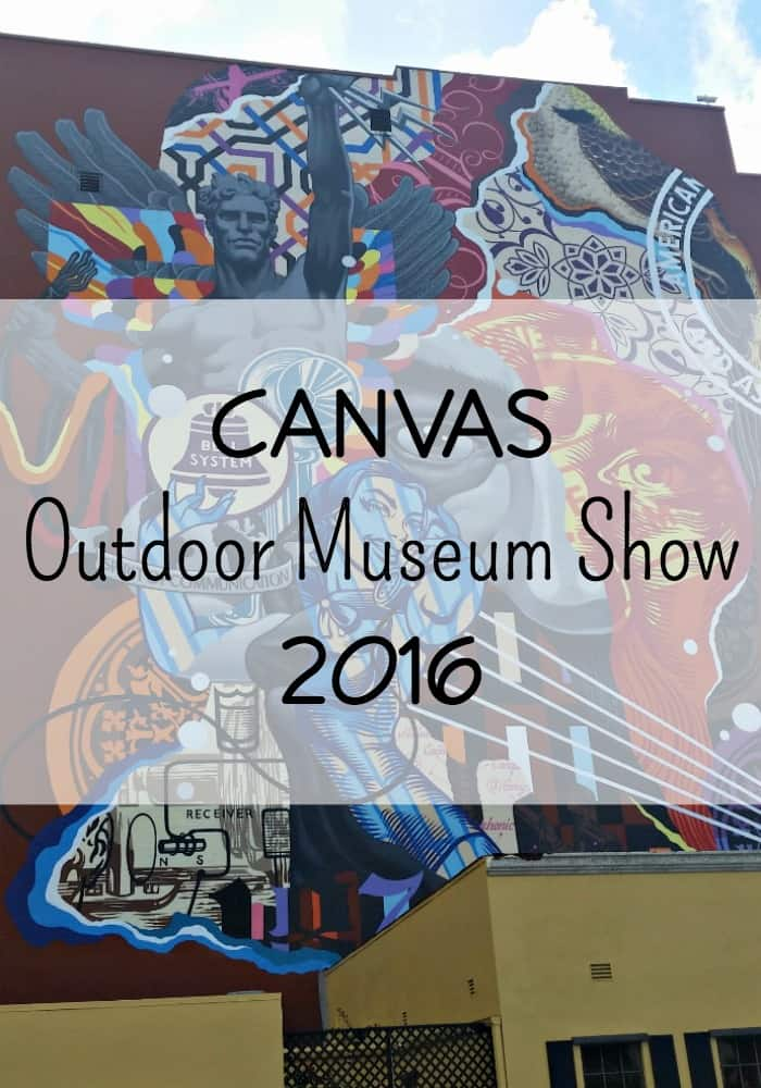 Canvas Outdoor Museum Show 2016