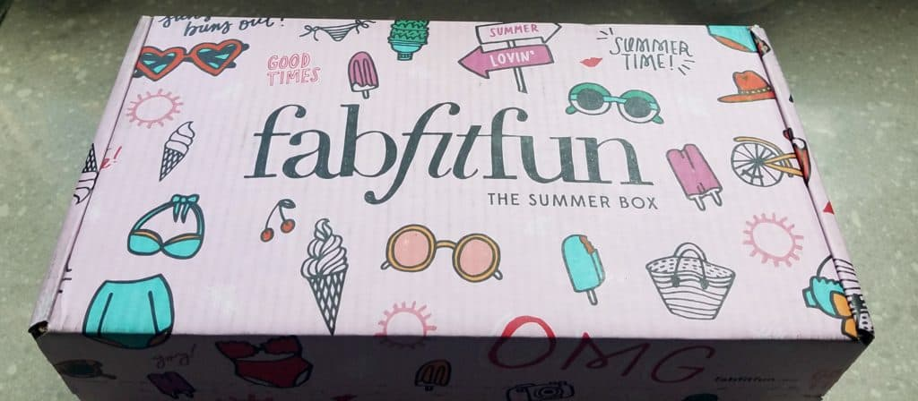 FabFitFun Summer 2016 Reveal and Review