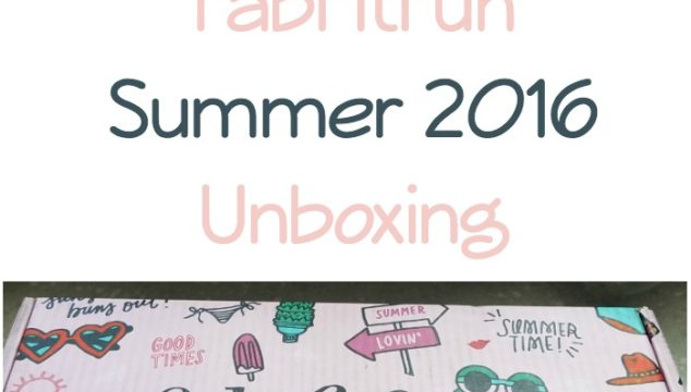 FabFitFun Summer 2016 Unboxing!