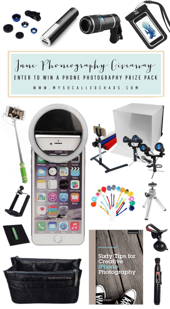 June Phoneography Giveaway