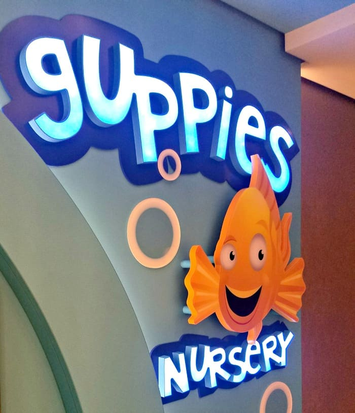 Norwegian Cruise Line Guppies Nursery
