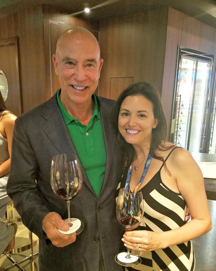Norwegian Cruise Line Michael Mondavi and I