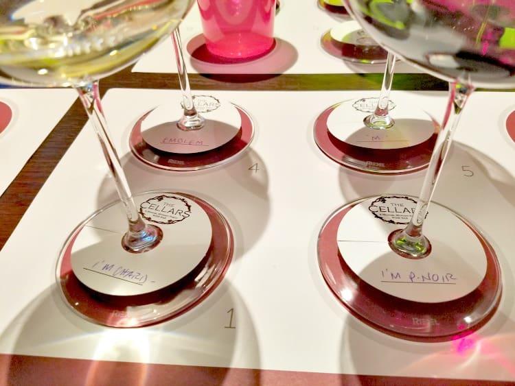 Norwegian Cruise Line Wine Tasting