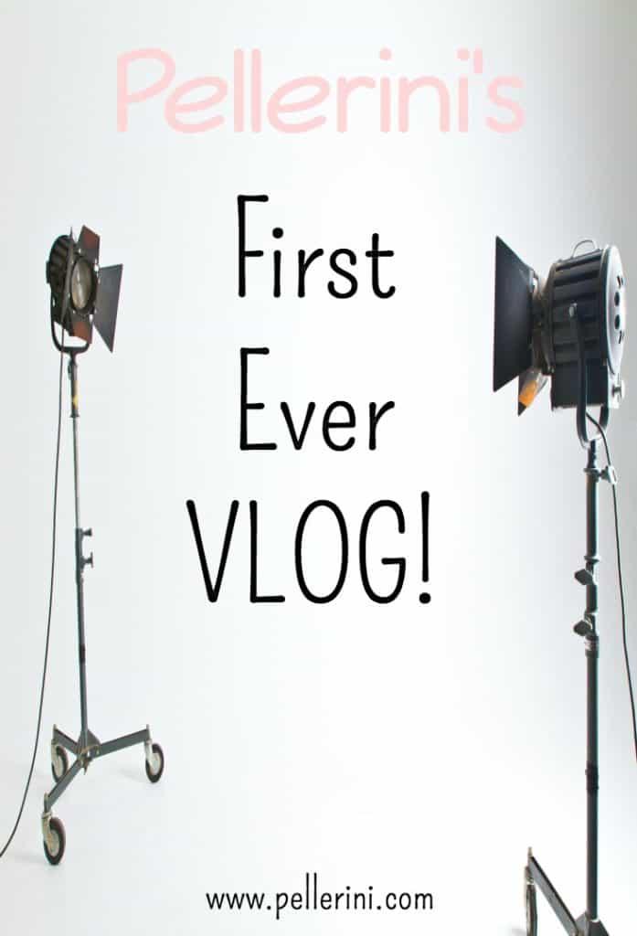 Pellerini's First Ever Vlog