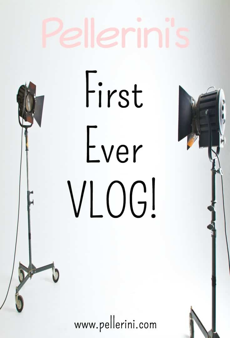Announcing Pellerini's First Ever Vlog