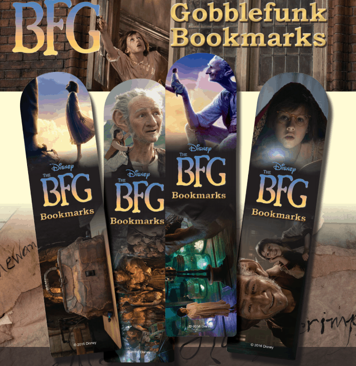 The BFG Bookmarks