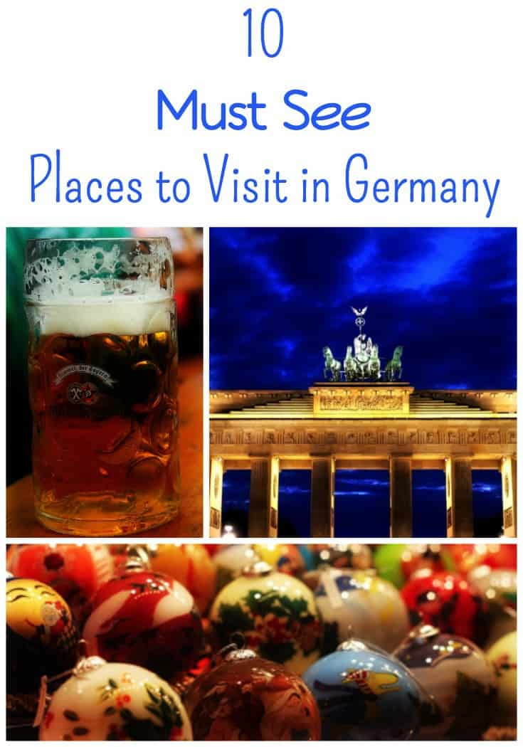 10 Must See Places in Germany!