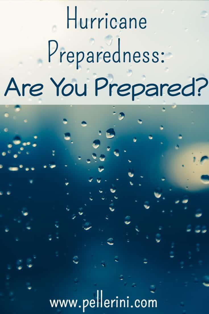 Hurricane Preparedness Are You Prepared