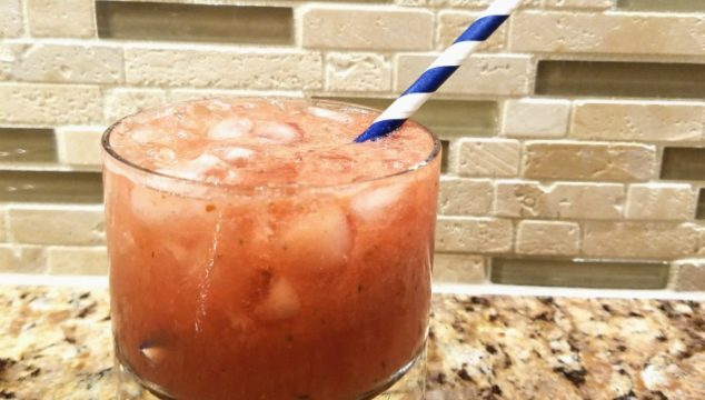 Perfect Weather For Pellerini's Famous Watermelon Cooler