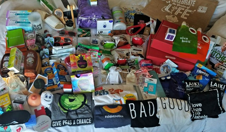 BlogHer 2016 Recap Swag