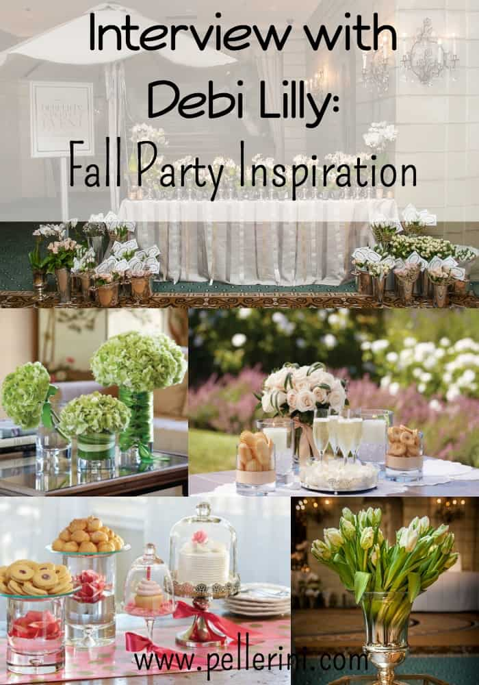 Interview with Debi Lilly Fall Party Inspiration