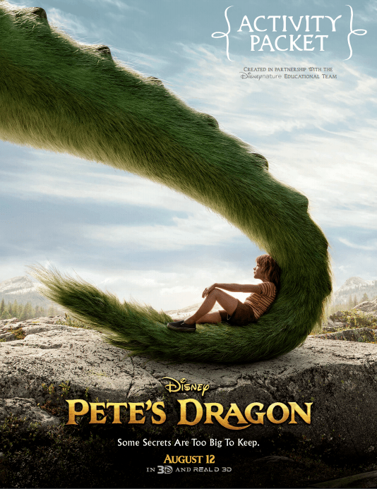 Pete's Dragon FREE Family Fun Printables!