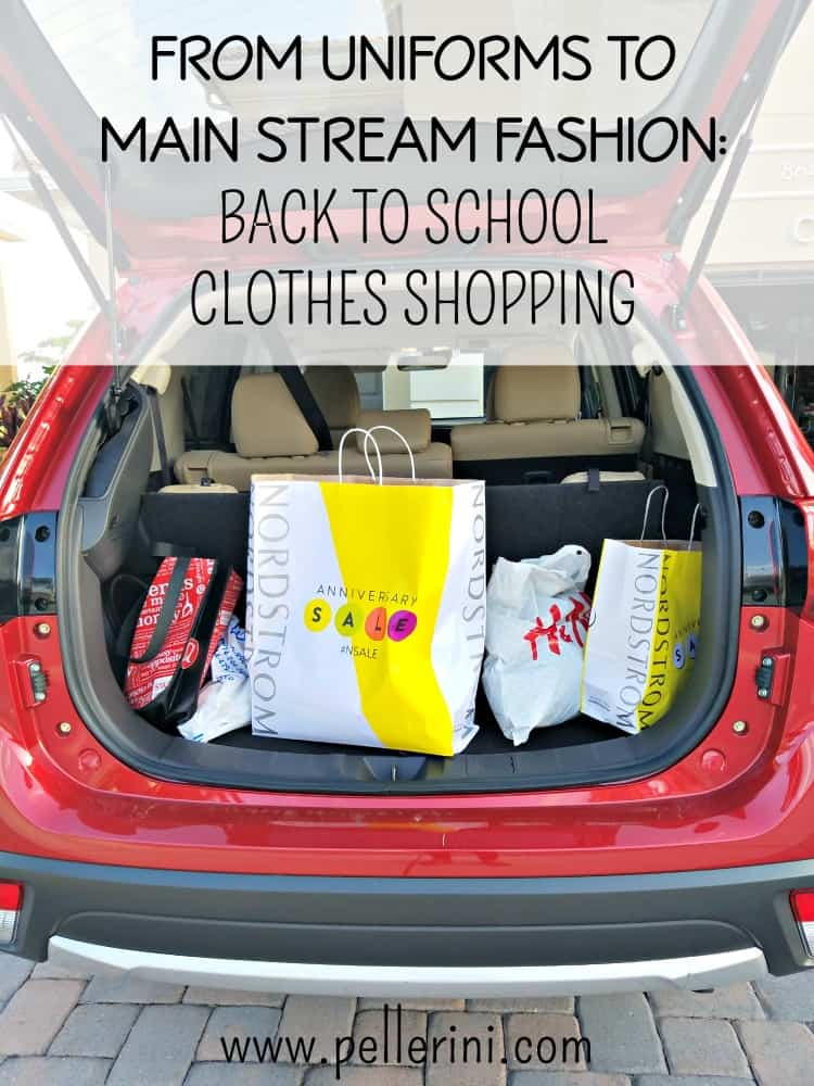From Uniforms to Main Stream Fashion – Back to School Clothes
