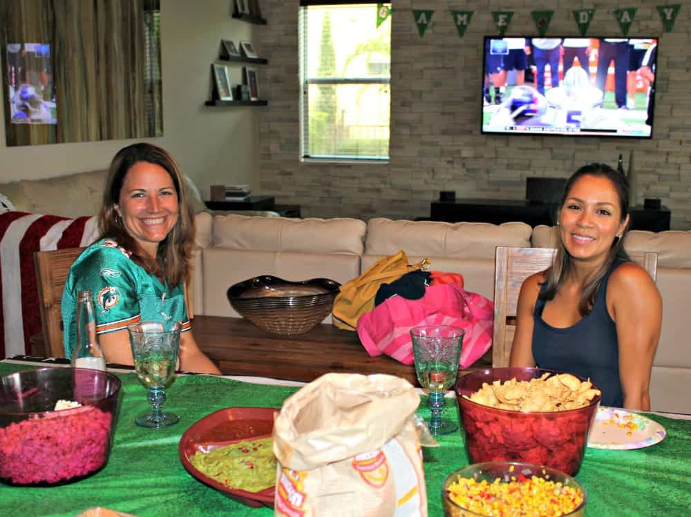 sunday-funday-football-party-melissa-and-maria
