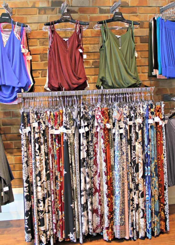 Apricot Lane Fall Fashion Palazzo Wall