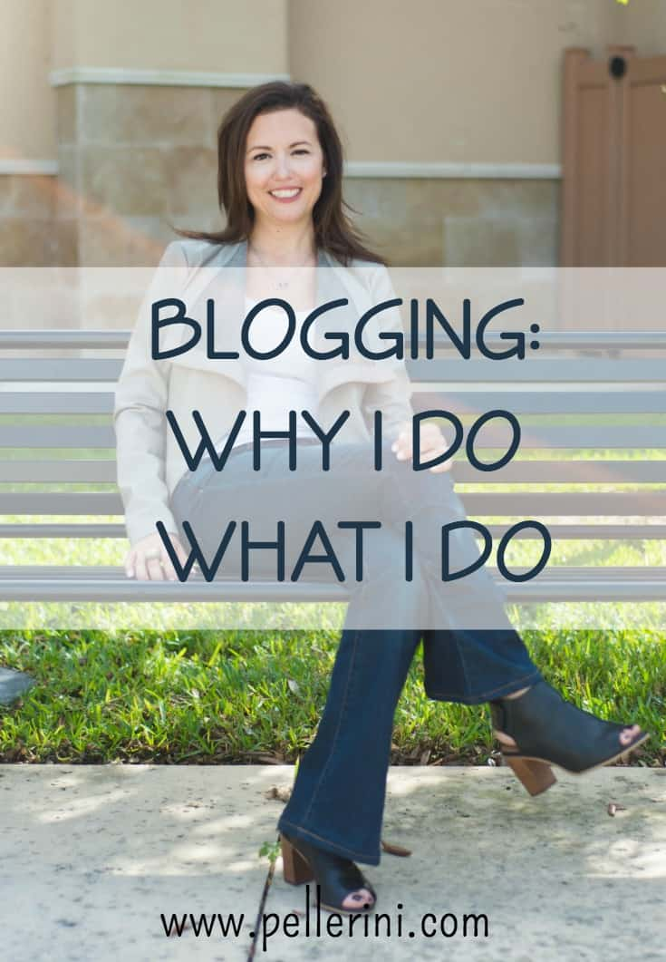 Blogging why I do what I do
