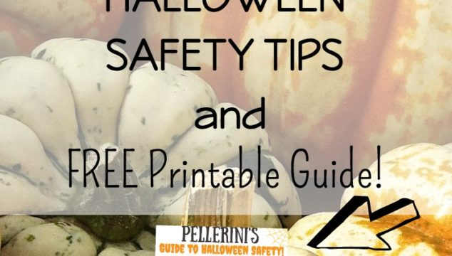 Halloween Safety Tips & FREE Printable Guide