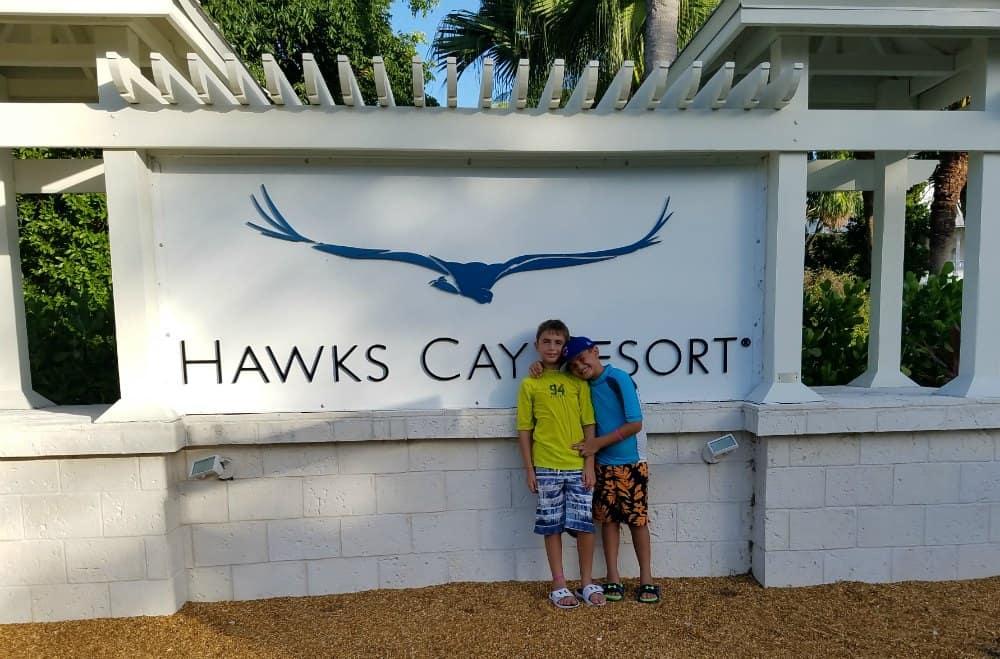 Hawks Cay Family Vacation Coral Cay