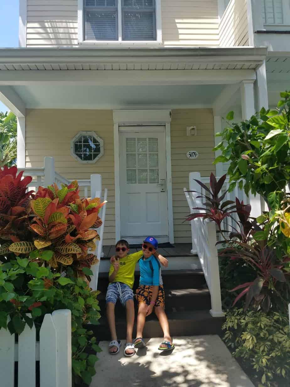 Hawks Cay Family Vacation Townhome Villa Exterior