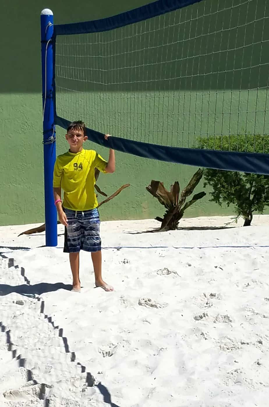 Hawks Cay Family Vacation Volleyball Court
