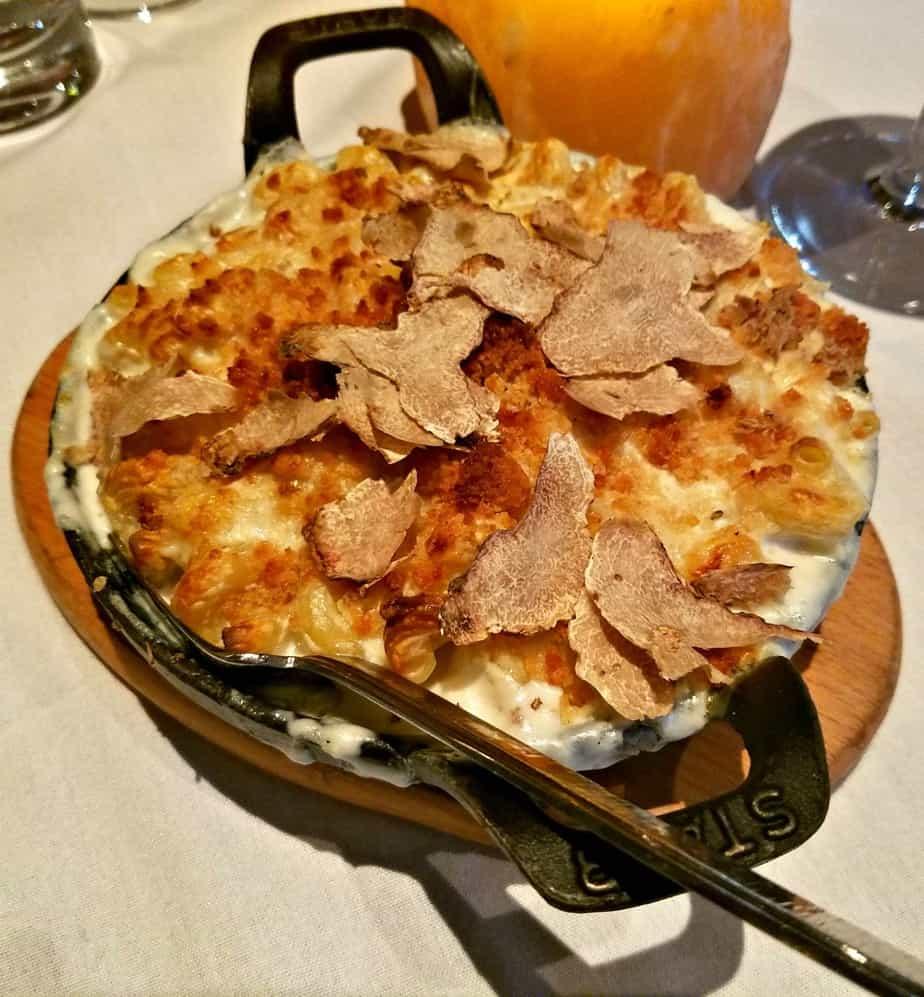 Seminole Casino Coconut Creek Black Truffle Macaroni and Cheese NYY Steak