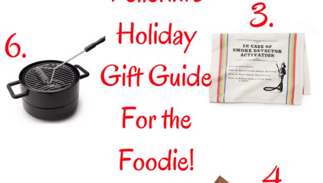 Holiday Gift Guide For Foodies