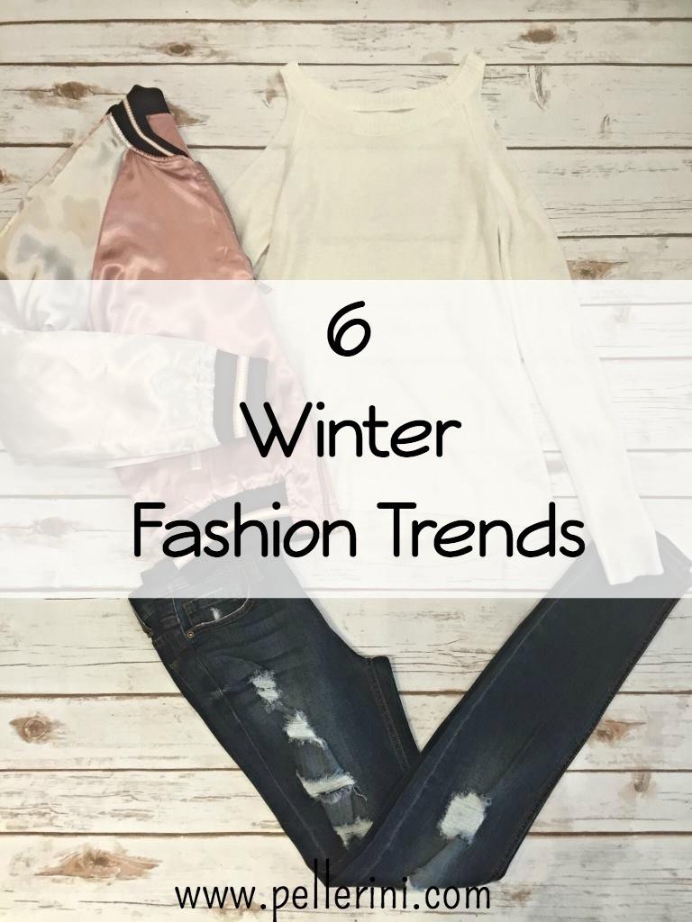 6 Winter Fashion Trends