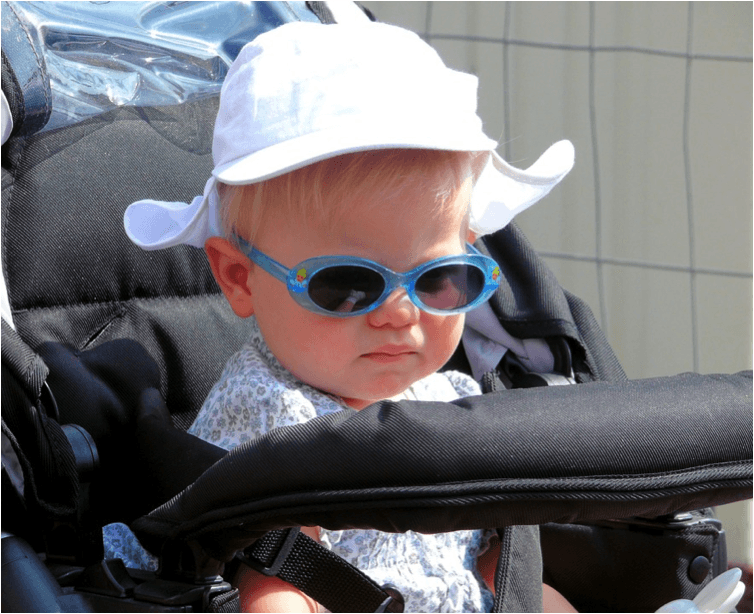 Essentials when traveling with kids foldable stroller
