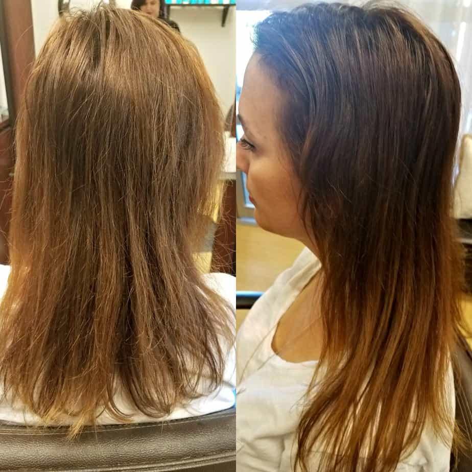 Healthy Hair Tips Before