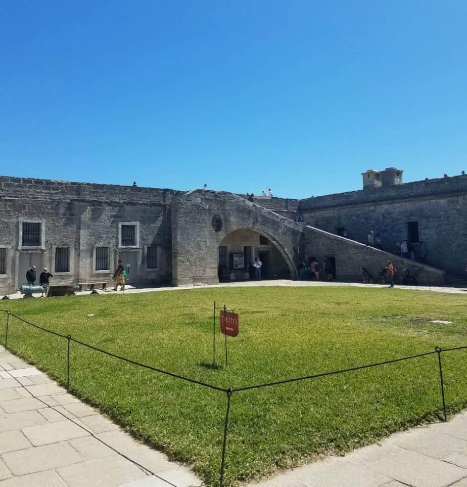 Family Friendly St Augustine - Castillo de San Marcos Fort Interior