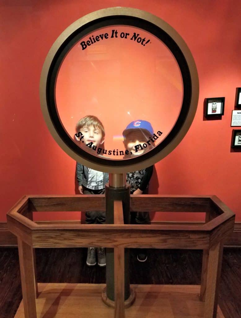 Family Friendly St Augustine - Ripley's Believe it or Not Magnifying Glass