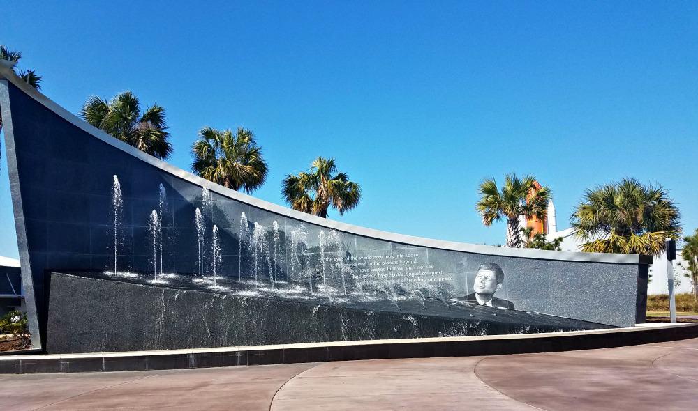 Kennedy Space Center Kennedy Fountain