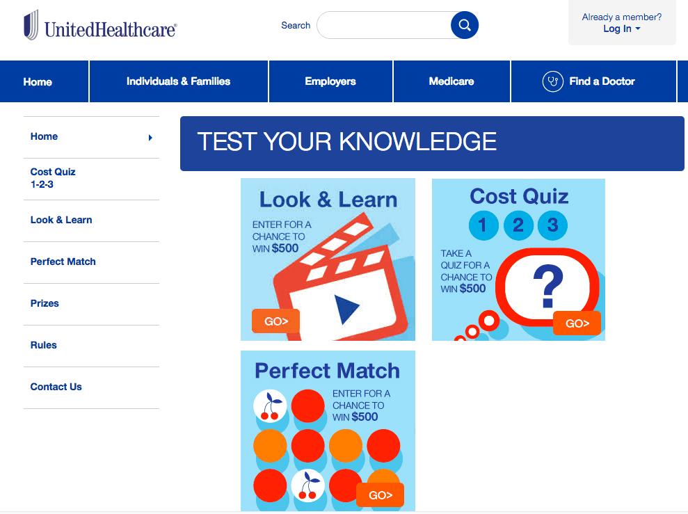 Health Care Plan Quiz UnitedHealthcare