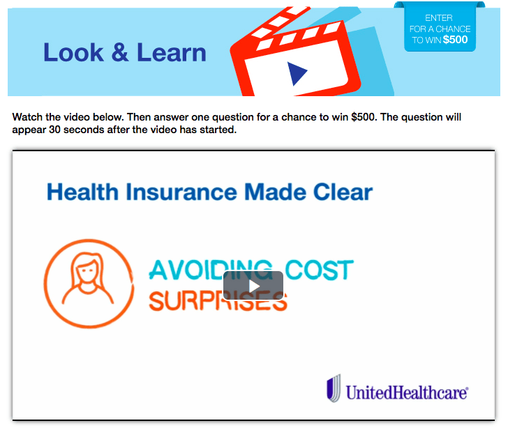 Understand Your Health Care Plan UnitedHealthcare Look and Learn