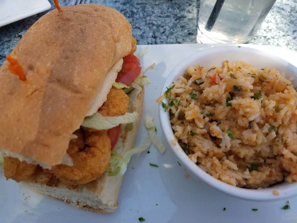 St. Augustine Restaurants - Harry's Po Boy