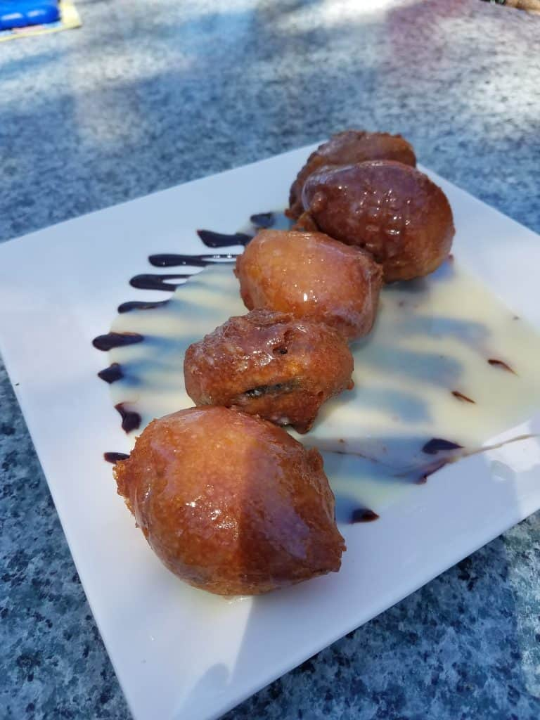 St. Augustine Restaurants - Harry's Oreo Beignet