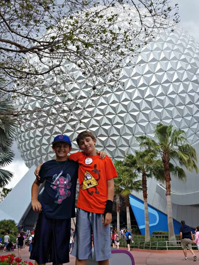Epcot Boys and the Golf Ball