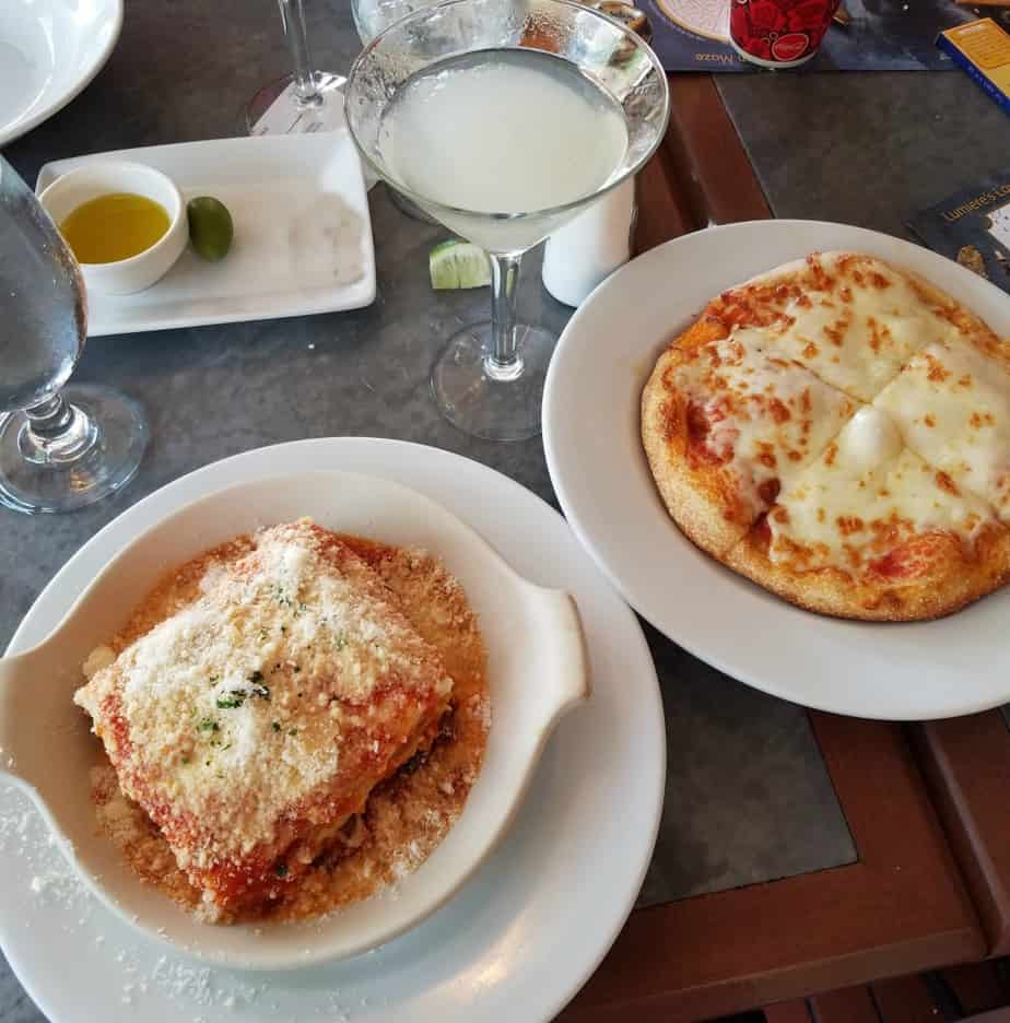Epcot Italy Food